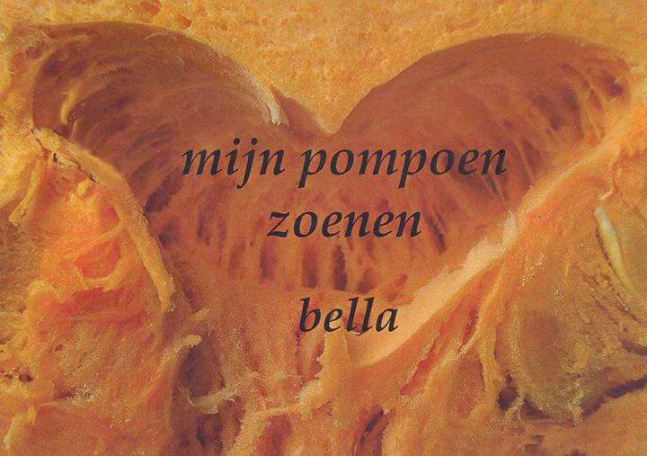 Mijn pompoenzoenen