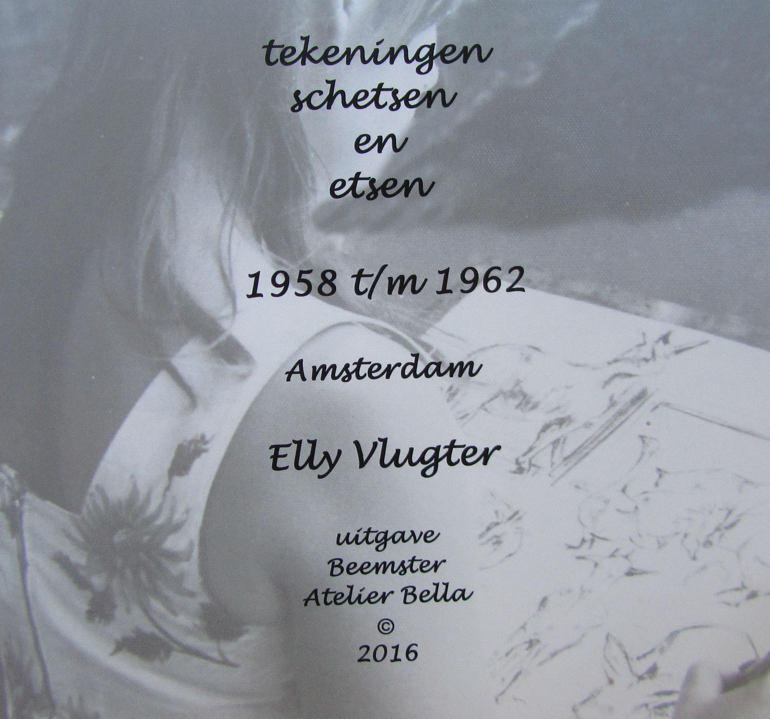 Tekeningen, schetsen en etsen 1958 t/m 1962