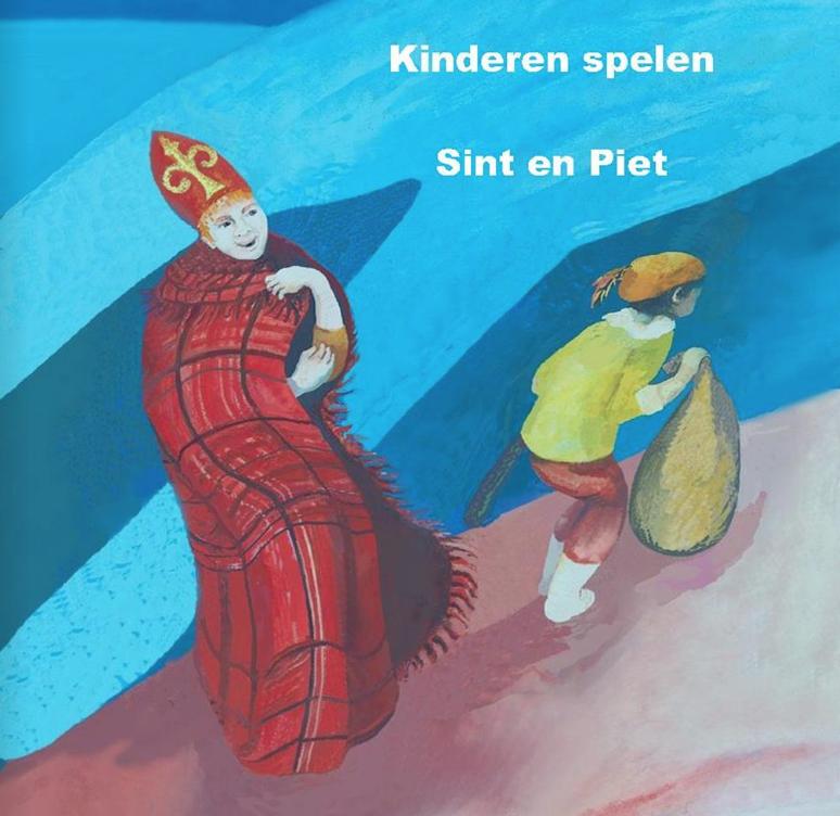 Kinderen spelen Sint en Piet
