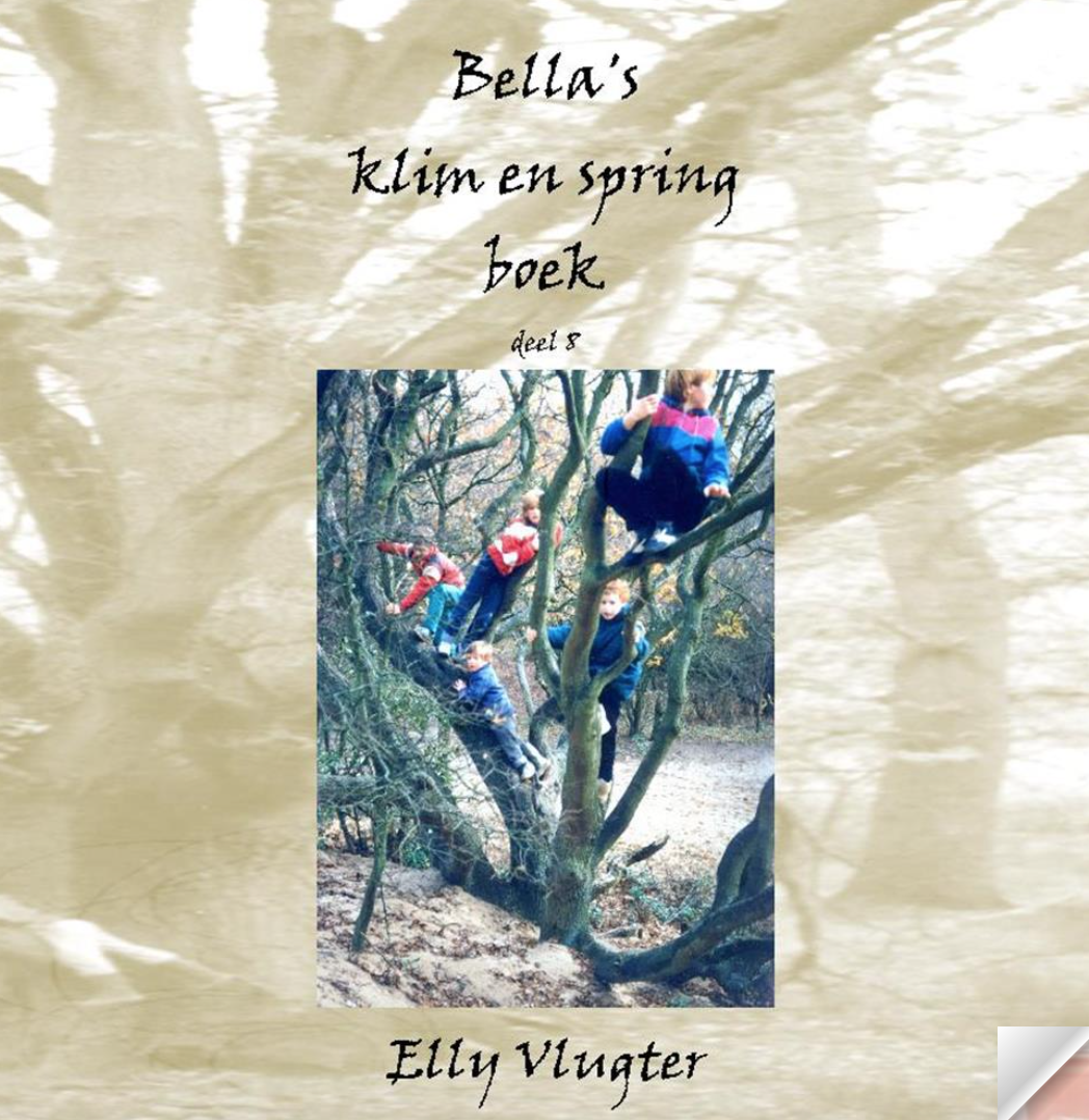 Bella's klim en spring boek deel 8
