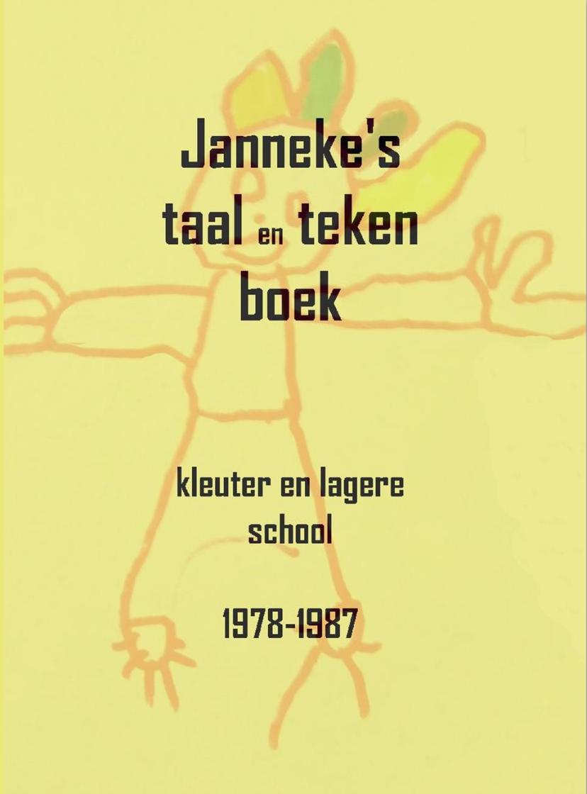 Janneke's taal en tekenboek