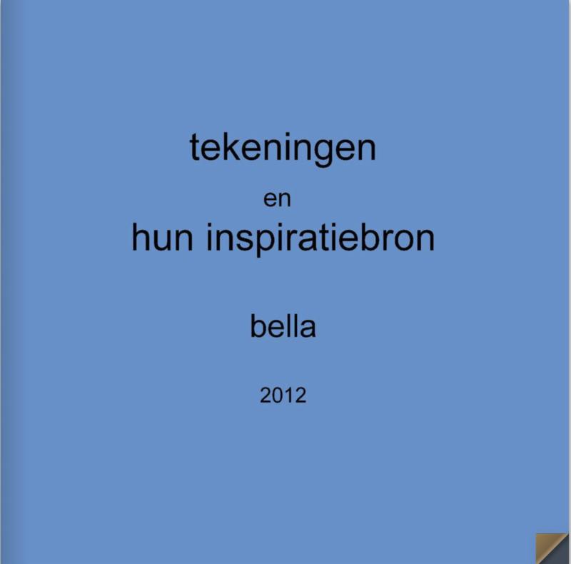 Tekeningen en hun inspiratiebron 2012